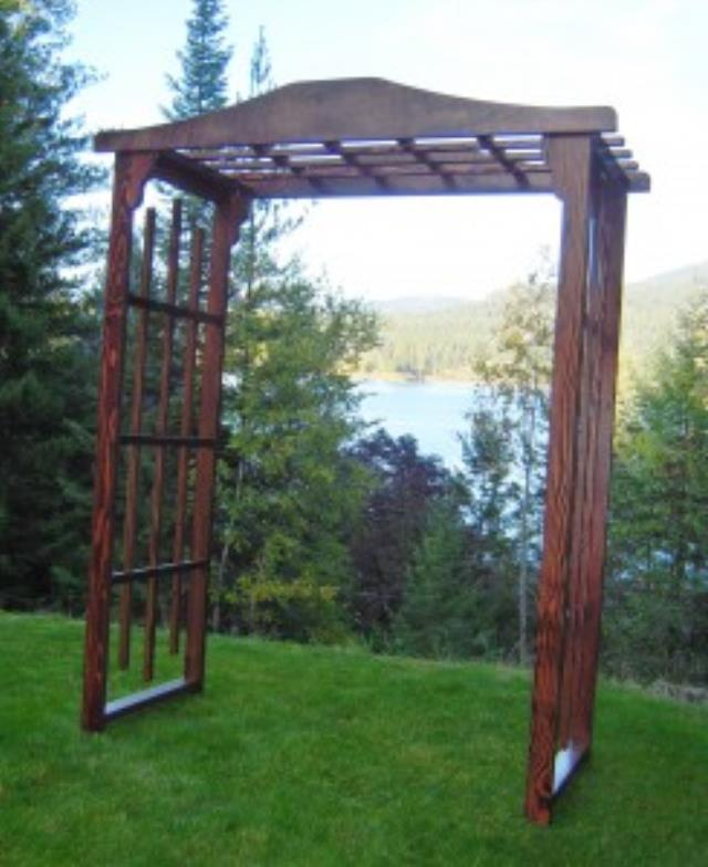 Where to find WEDDING ARBOR - FLAT TOP - WOOD in Duluth