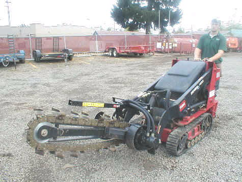 Where to find DINGO TRENCHER ATTACHMENT in Duluth