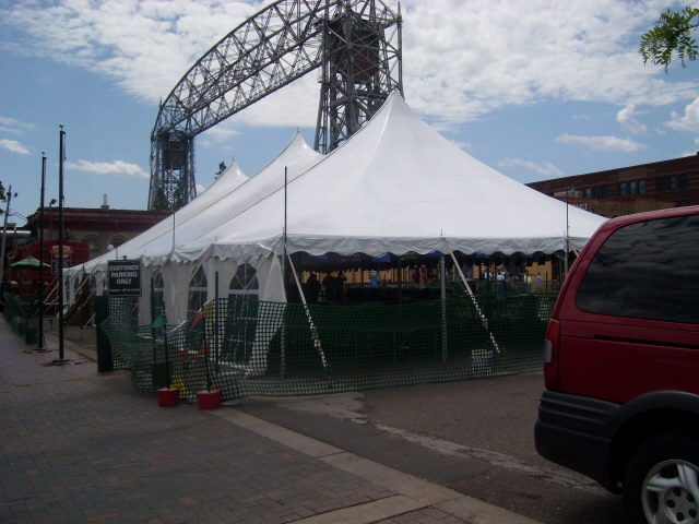 Where to find POLE TENT 40 X 80 in Duluth