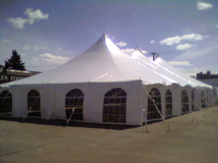 Where to find POLE TENT 40 X 120 in Duluth