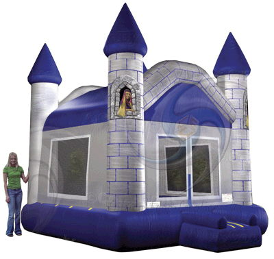 Where to rent GREY BOUNCE CASTLE, 15X15 in Duluth, Hermantown and Cloquet MN