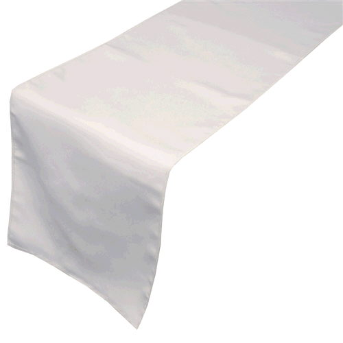 Where to rent TABLE RUNNER - WHITE in Duluth, Hermantown and Cloquet MN