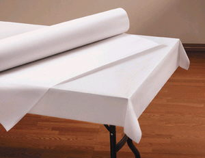 Where to find TABLE ROLL 40 X100  - WHITE in Duluth
