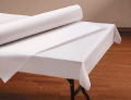 Where to rent TABLE ROLL 40 X100  - WHITE in Duluth MN