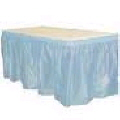 Where to rent 13  PLASTIC SKIRT - LIGHT BLUE in Duluth MN