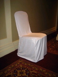Where to rent CHAIR COVERS - WHITE in Duluth MN