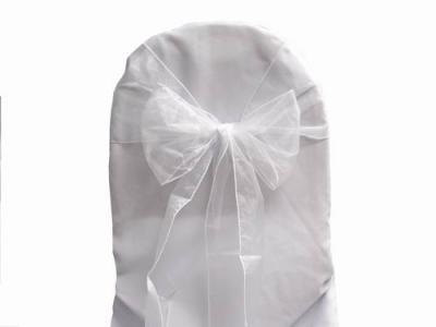 Where to find CHAIR SASH - WHITE ORGANZA in Duluth
