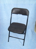 Where to rent CHAIR, FOLDING BLACK in Duluth MN