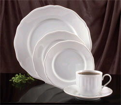 Where to find WHITE CHINA - COFFEE SAUCER in Duluth