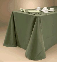 Where to find TABLE CLOTH - 90 x132  COLORED in Duluth