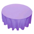 Rental store for TABLE CLOTH - 90  ROUND COLORED in Duluth MN