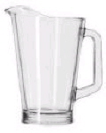 Rental store for PITCHER 60 OZ GLASS in Duluth MN