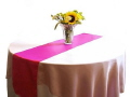 Where to rent TABLE RUNNER - HOT PINK in Duluth MN
