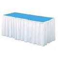 Where to rent TABLE SKIRT, WHITE EXPO in Duluth MN