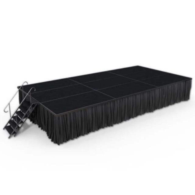 Where to find STAGE SKIRT - 15  x 13  BLACK in Duluth