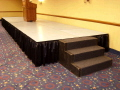 Rental store for STAGE SKIRT - 24  x 16  BLACK in Duluth MN