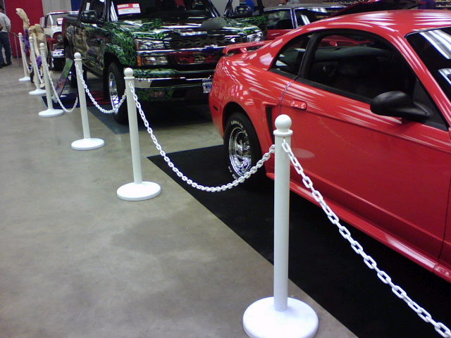 Where to find STANCHION -  WHITE PLASTIC in Duluth