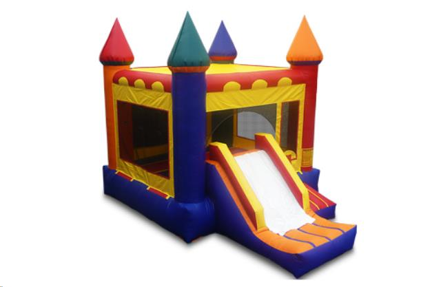 Where to find RAINBOW CASTLE COMBO BOUNCE HOUSE in Duluth