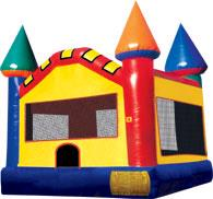 Where to find RED BOUNCE CASTLE, 15X15 in Duluth
